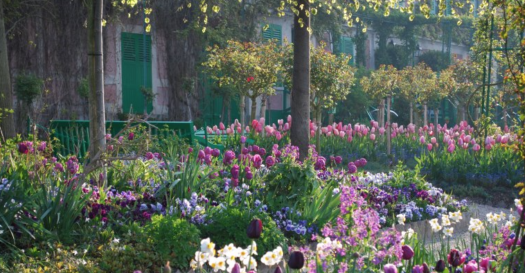 Giverny, Monet, kert