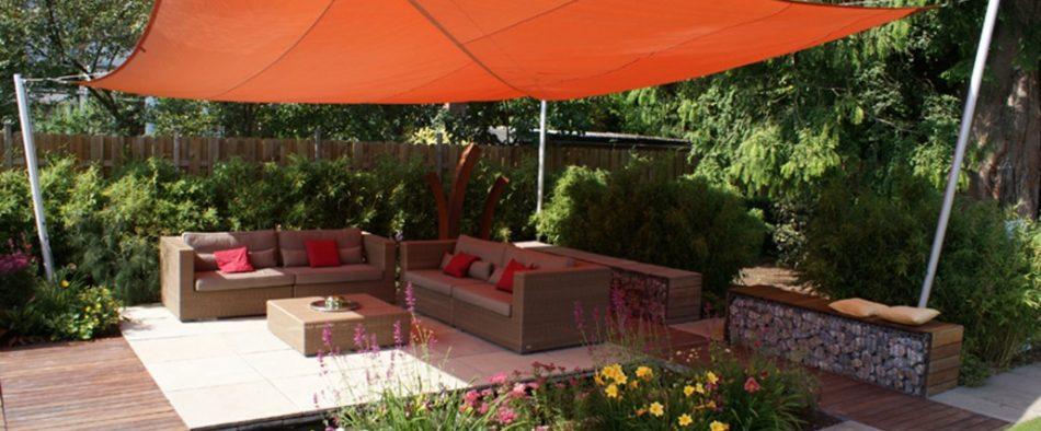 napellenző, kert, terasz