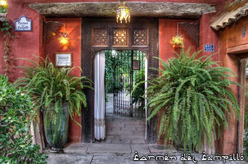 Carmen del Campillo-a mór teaház