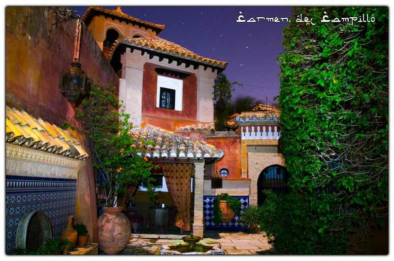 Carmen del Campillo, mór, teaház, Alicante, környék