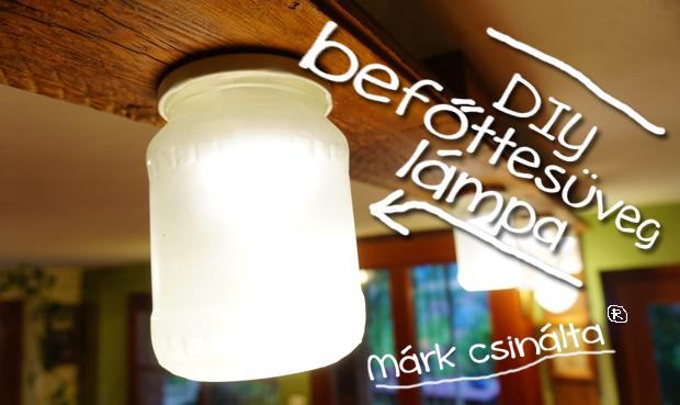 Befőttesüvegből LED-lámpa - videó