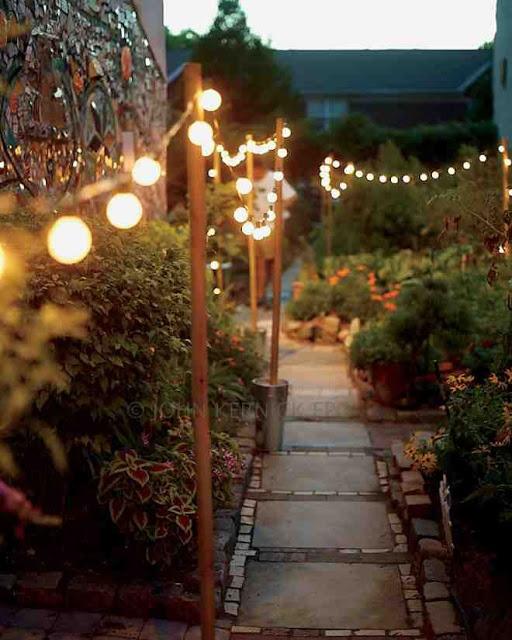 kerti ösvény világítás