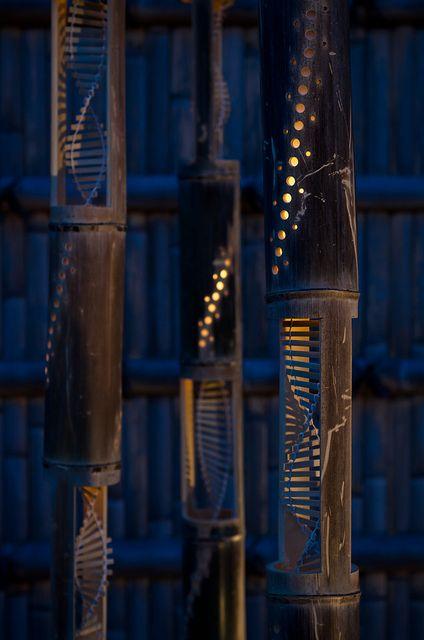 bambusz dísztárgy