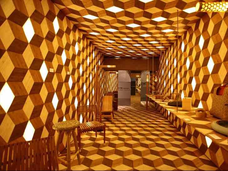 bambusz építmény