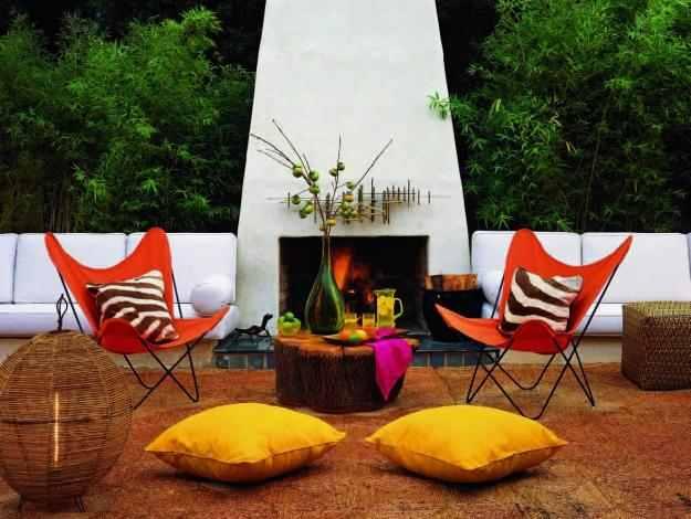 white-fireplace marokkói stílus