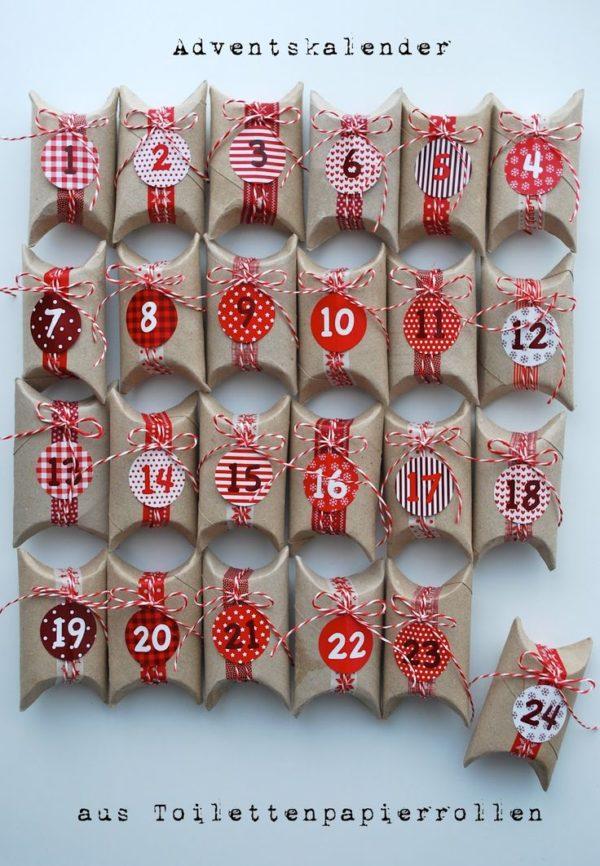 adventi naptár wc papír gurigából