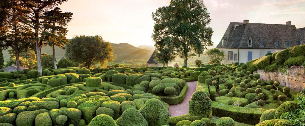 A francia kertészet legromantikusabb kertje - Marqueyssac