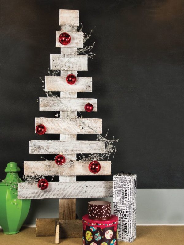 arvore natal parede - christmas tree wall 1
