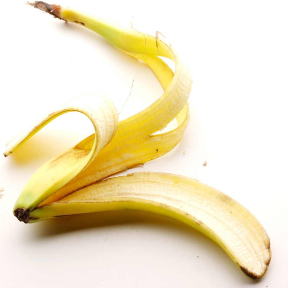 házi praktika banánhéjjal