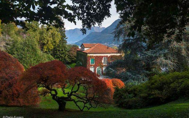 szép kert, Cómo-tó, villa kert