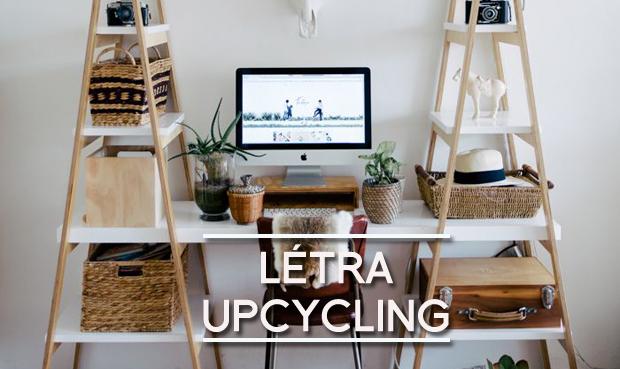 létra upcycling