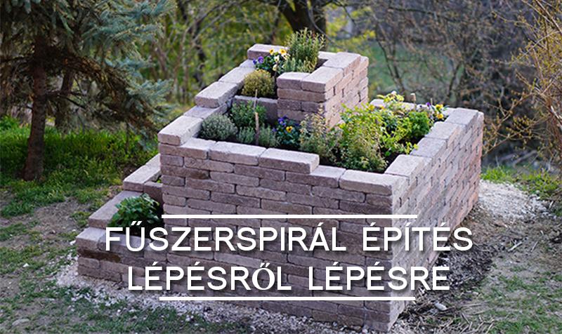 FŰSZERSPIRÁL ÉPÍTÉS LÉPÉSRŐL-LÉPÉSRE
