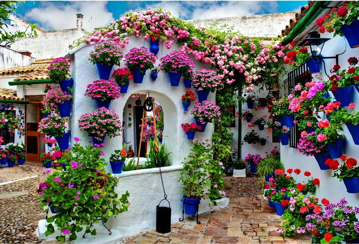 Andalúzia csodás virágos udvarai - a patiók