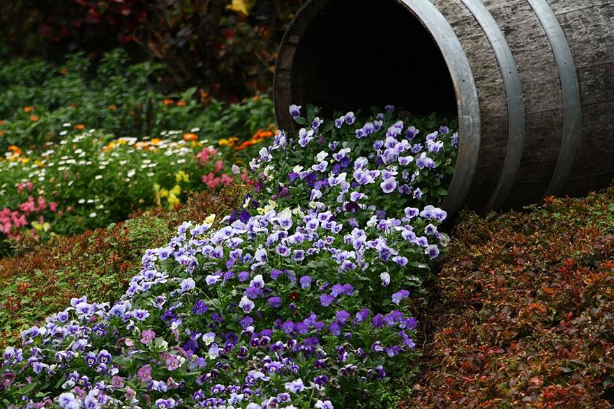 Ültessünk virágfolyamot egynyáriakból!