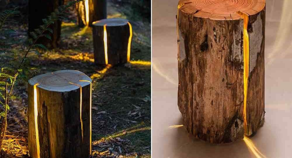 Repedt farönk lámpa - Egy gyengénlátó designer alkotása