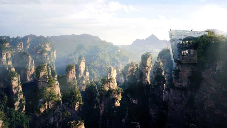 zhangjiajie-üveghíd