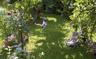 gyerekbarát kert
