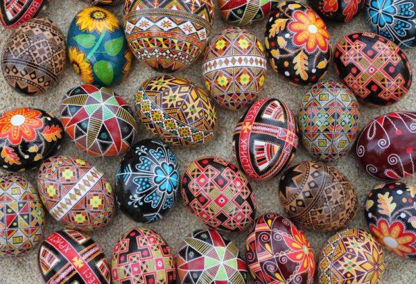 hímes húsvéti tojások