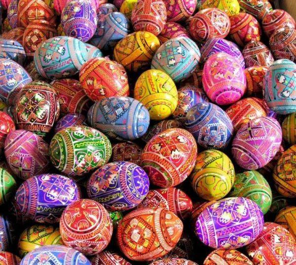 festett tojások húsvét