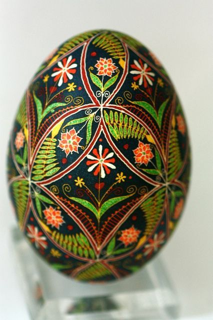 különleges festett tojások