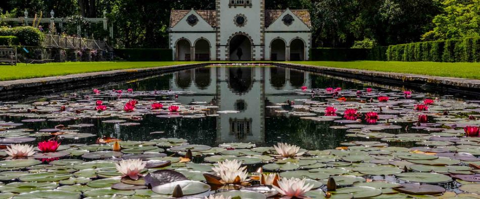 Bodnant-kert, angol kert