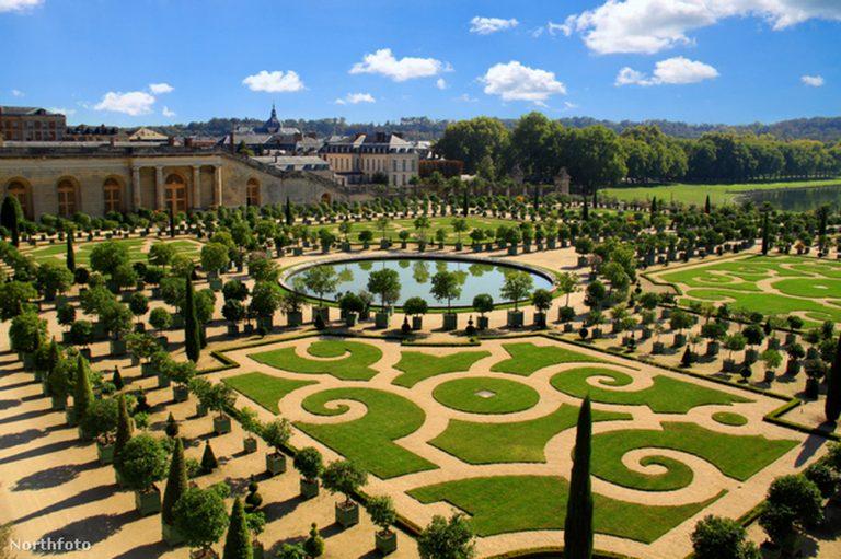 Versailles-i kastély kertje