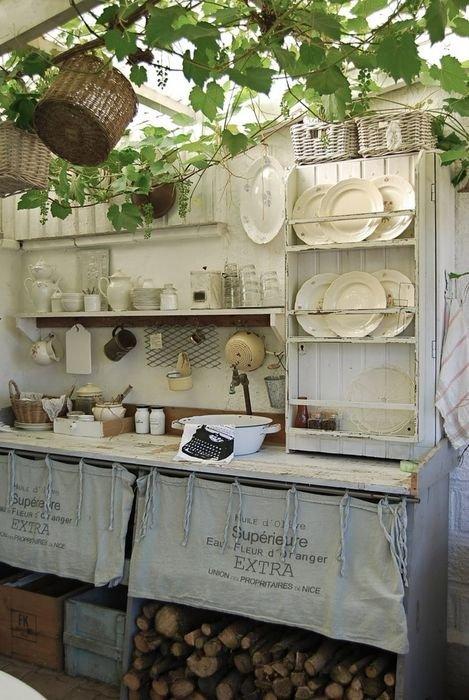 vintage nyári konyha
