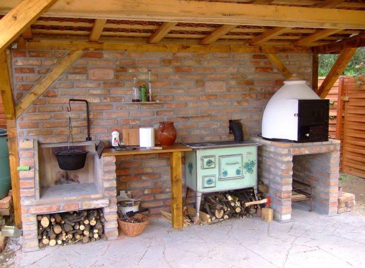 hagyományos kerti konyha