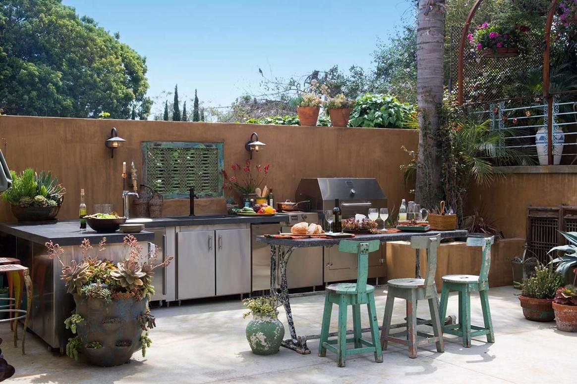 Csodaszép kültéri konyhák
