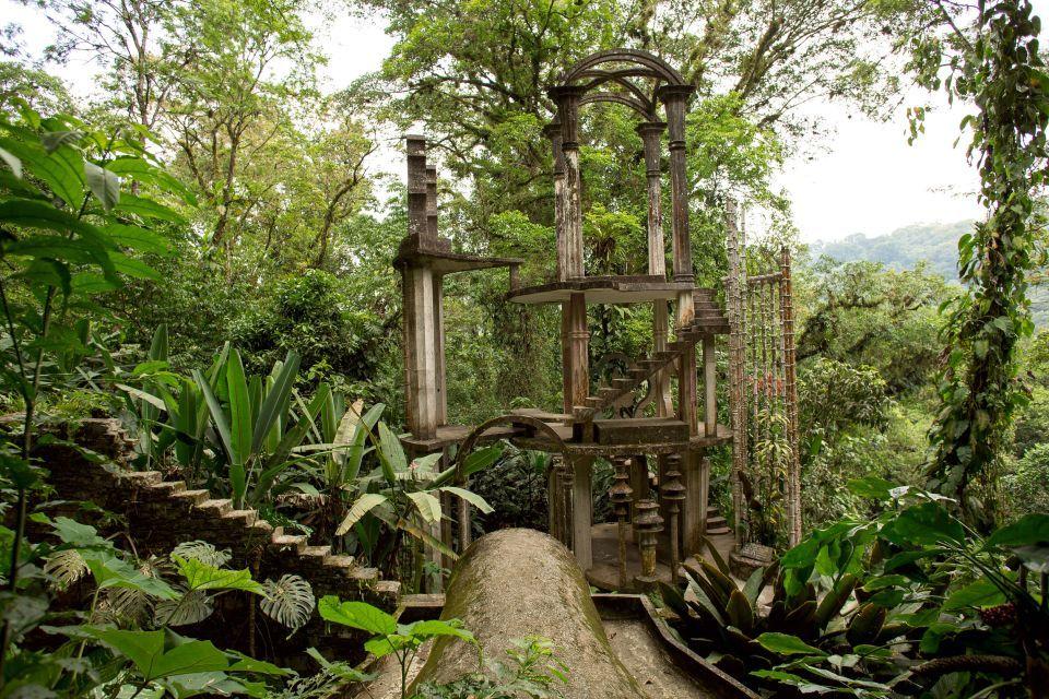 Las Pozas, szürreális, szoborkert