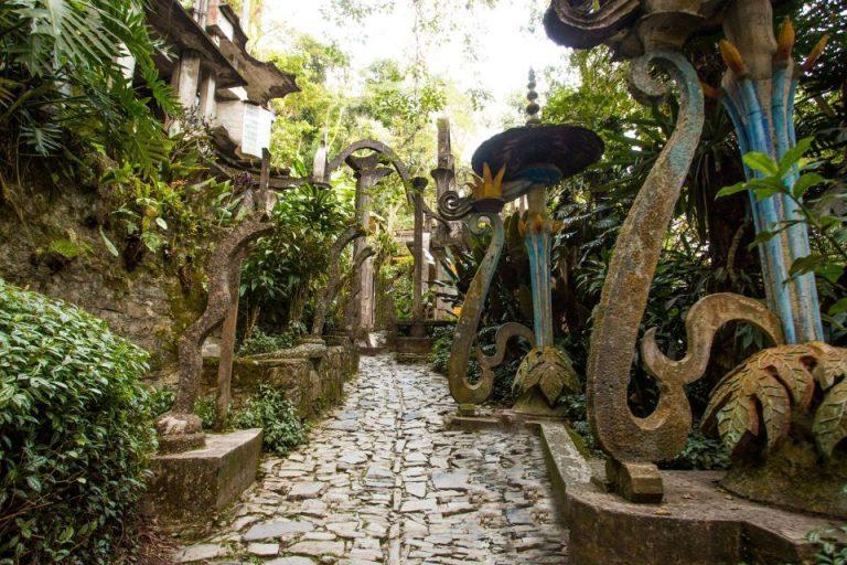 Las Pozas, Mexikó, szürreális, szoborkert