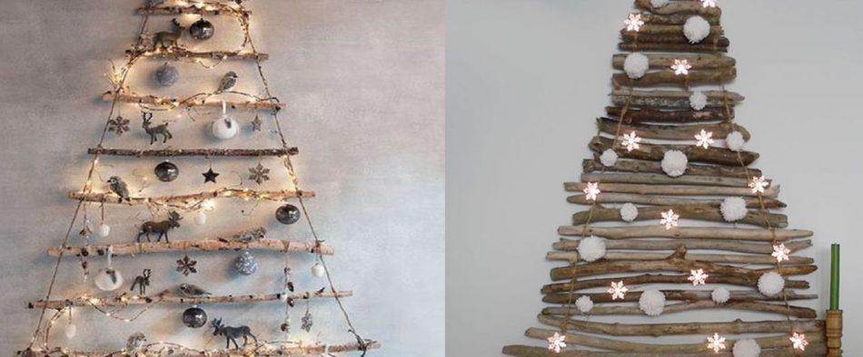 karácsonyfa, DIY, alternatív