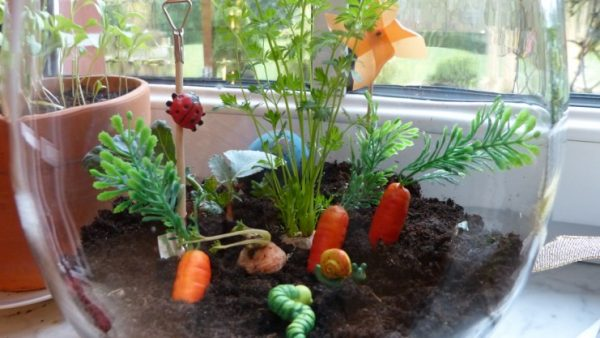 beltéri kertészkedési ötletek gyerekekkel