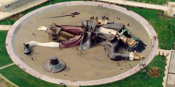 Gulliver csúszdapark, Valencia, Túria park