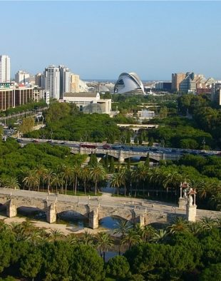 Valencia, Túria park, Gulliver csúszdapark