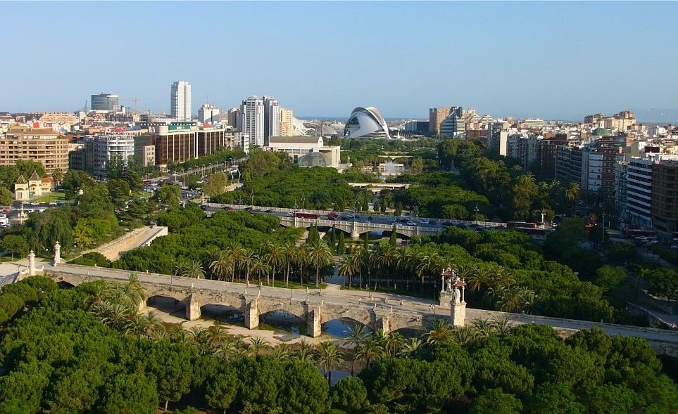 Egy különleges park Spanyolországban  - Túria park, Valencia