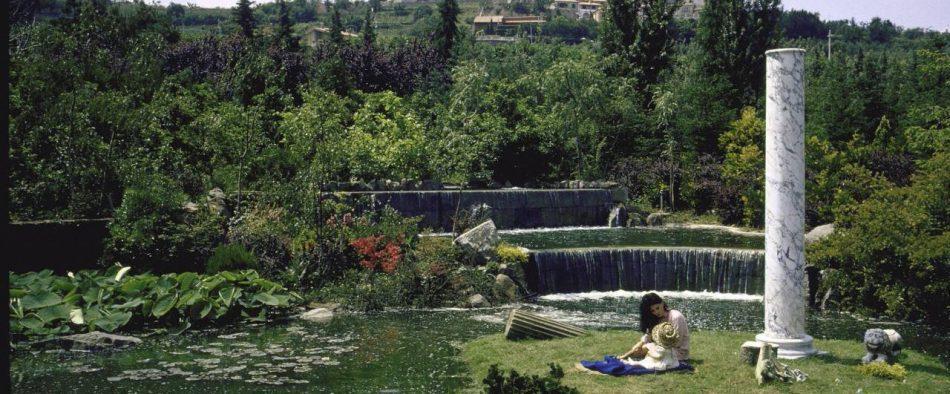 Sophia Loren, villa, kert, villakert, római