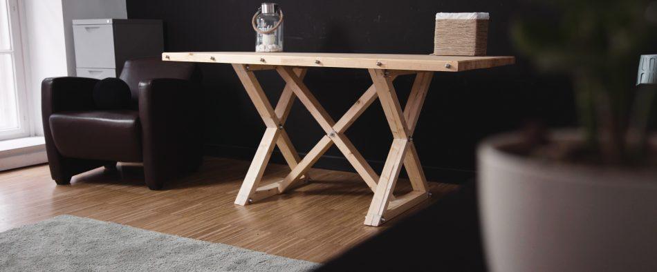 tömör fa, fa asztal, fenyő asztal