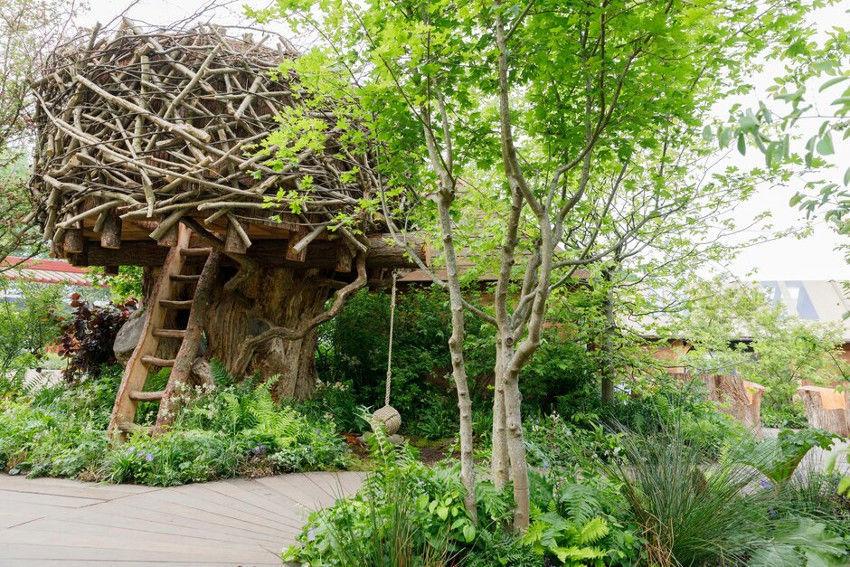 katalin hercegné kertje a Chelsea Virágkiállításon