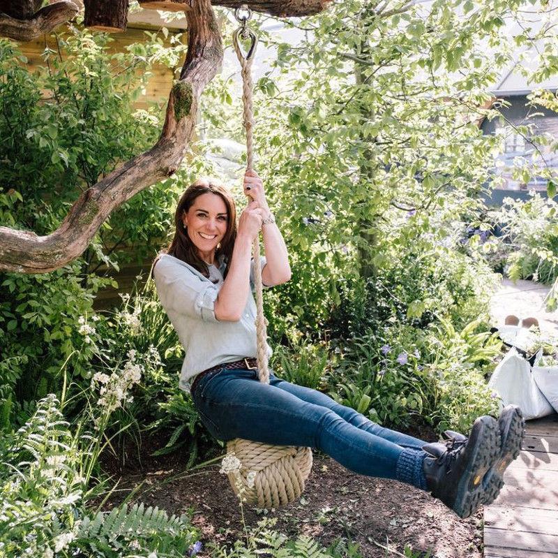 Gyerekbarát, természetközeli kertet tervezett Katalin hercegné