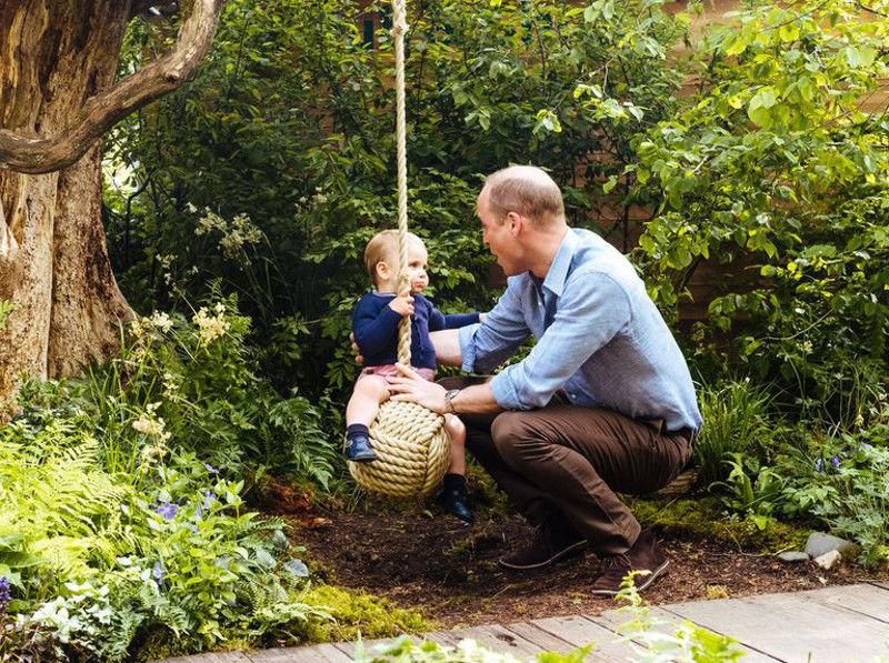 Katalin hercegné természetközeli kertje