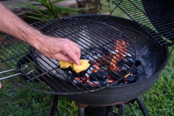 grillrács tisztítása