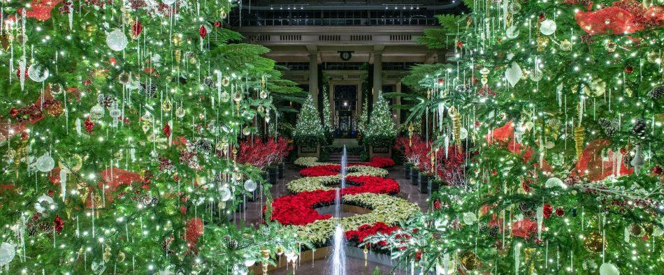 longwood gardens karácsony