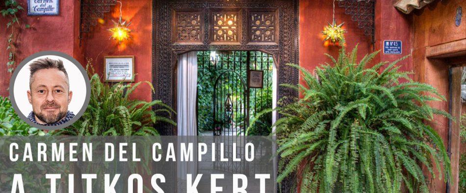 Carmen del Campillo mór teaház