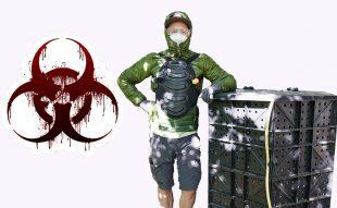 bioreaktor komposztáló