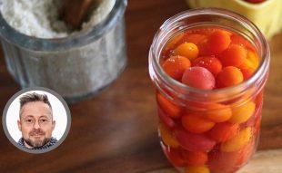 fermentált paradicsom